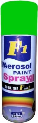 f1 green Spray Paint 450 ml(Pack of 1) at flipkart
