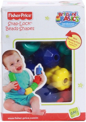 Fisher-Price Snap-Lock Beads(Multicolor)  available at flipkart for Rs.259