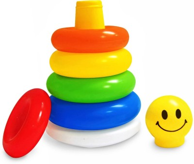 Shoppersden Stacking Ring toy(Multicolor)