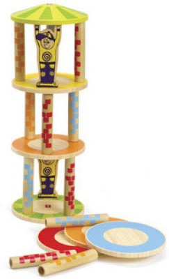 Hape Bamboo Crazy Tower