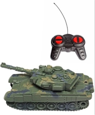 kts khalsa toys and sales Heavy Tank Green Remote Control(Multicolor)