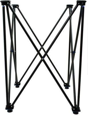 Precise Easy Fold Carrom Stand(Steel, Orange)