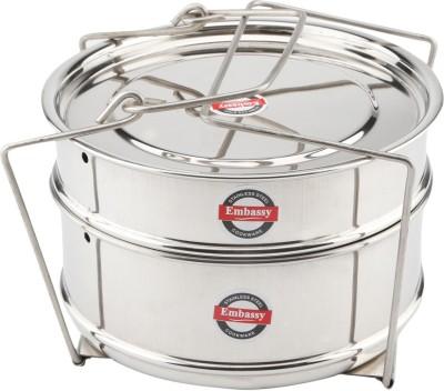 Embassy Cooker Separator Set Suitable For Prestige Outer Lid Cooker Stainless Steel Steamer(4 L)  available at flipkart for Rs.680