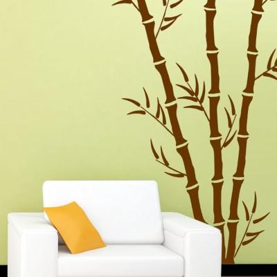 Compare arhat stencils bamboo asr e127 glossy pvc wall décor art ...
