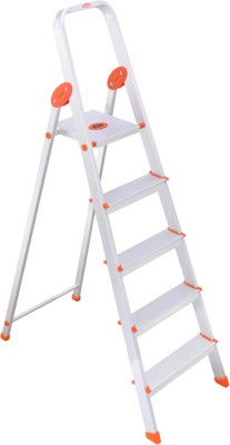 Bathla 4 Step Aluminium Ladder(With Platform)