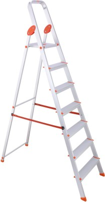 Bathla Advance 7-Step Foldable Aluminium Ladder(With Platform)