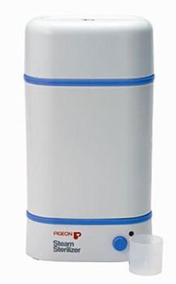 Pigeon Steam Sterilizer - 2 Slots(White)