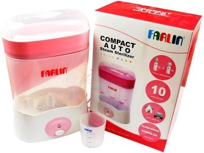 Farlin Compact Auto Steam Sterlizer - 3 Slots(Pink)