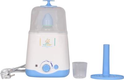 Ole Baby Dual bottle Steam cum Warmer cum Heating(250 ml each) - 2 Slots(White)