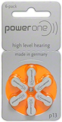 Power One P13 1.45V PR48 Hearing Aid Batteries  available at flipkart for Rs.159