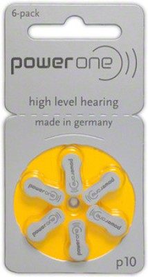 Power One P10 1.45VPR70 Hearing Aid Batteries  available at flipkart for Rs.158