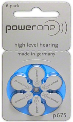 Power One P675 1.45V PR44 Hearing Aid Batteries  available at flipkart for Rs.139