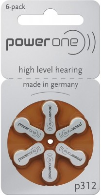 Power One P312 1.45V PR41 Hearing Aid Batteries  available at flipkart for Rs.155