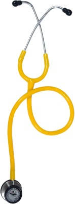 Ausculation Care Class 3 (Cardiology) Acoustic Stethoscope(Yellow)
