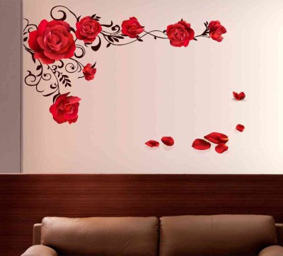 82% off on aquire extra large wall sticker(pack of 1) on flipkart