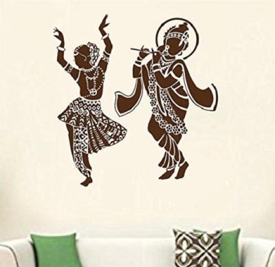 d85b39b59 Asmi Collections Wall Stickers Beautiful God Ganesha - Dark Brown