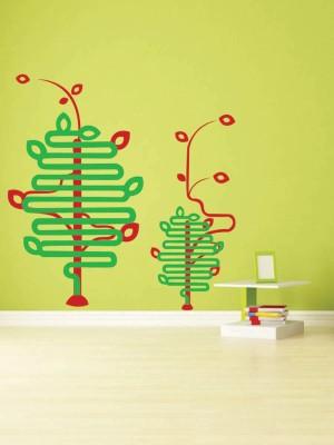 Trends on Wall Medium Nature Art Sticker(Pack of 1)