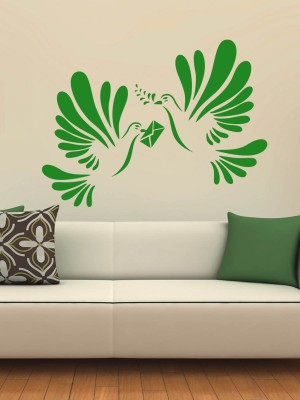 Trends on Wall Small Nature Sticker(Pack of 1)