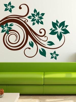 Trends on Wall Medium Nature Sticker(Pack of 1) at flipkart