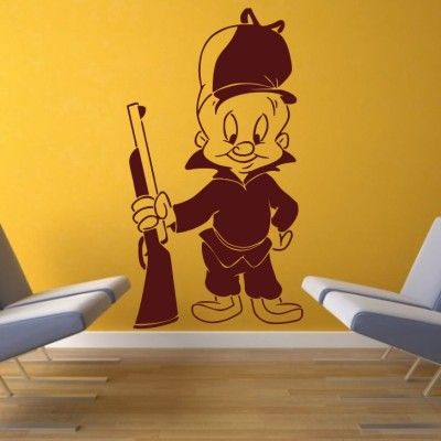 Decor Kafe Small Wall Sticker For Bedroom  Sticker(Pack of 1)