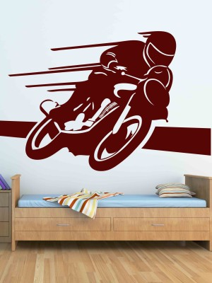 Wallmantra Large Vinyl Stickers Sticker(Pack of 1)