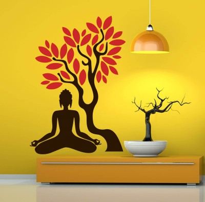 Trends on Wall Medium Spiritual Sticker(Pack of 1) at flipkart