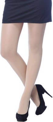 65a00ce506a 59% OFF on Golden Girl Opaque Beige   White Stockings on Snapdeal ...