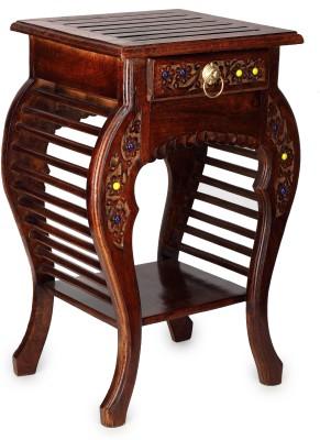 Onlineshoppee Living & Bedroom Stool(Brown)
