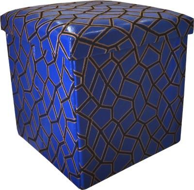 Muren Living & Bedroom Stool(Blue)