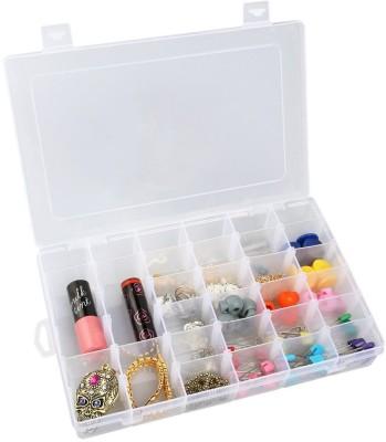Sukot 36 Compartments Plastic Plastic Storage Tools Medicine Holder Clear
