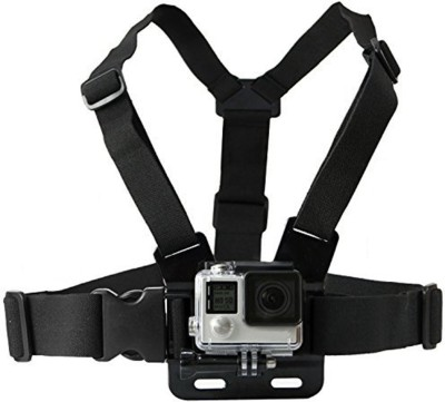 yantralay GoPro Adjustable Chest Strap Mount Body Belt Harness For Gopro Hero, SJCAM, Yi   Other Action Cameras Strap