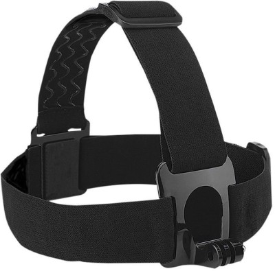 yantralay Adjustable Head Strap Mount For Gopro Hero, SJCAM, Yi & Other Action Cameras Strap(Black)