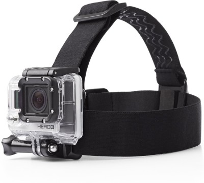 Mobilegear Flexible Head Mount with Adjustable Belt for Yi, SJCAM   GoPro HD Hero Action Cameras Strap