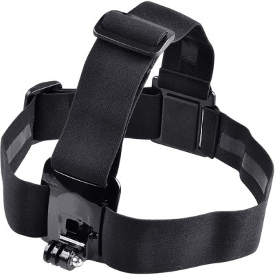 Power Smart Head Mount Belt For GoPro Hero2 Hero3 Hero4 Series With Anti Side Glue Strap Black