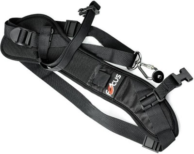 Focus Quick Strap Sport F-1 Strap(Black) at flipkart