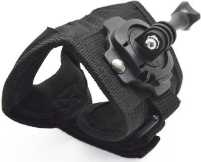 Axcess 360 Degree Rotation Glove style Wrist Hand Band Mount For GoPro Hero 4 3+ 3 2 SJCAM SJ4000 Strap Black Axcess Straps