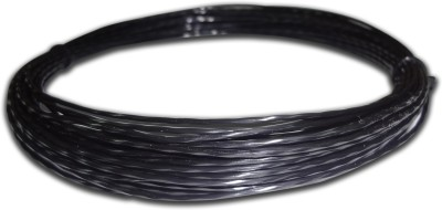 Discho Black Mamba Penta Twisted 1.28mm   Cut From Reel 1.28 Tennis String   12 m Black Discho Tennis Strings