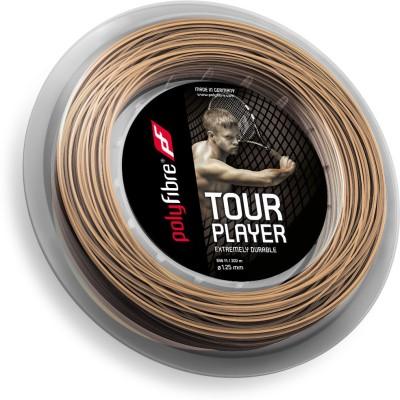 Polyfibre Tour Player 1.25mm   200m 1.25 Tennis String   200 m Brown