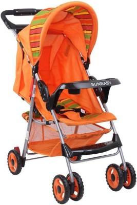 Sunbaby Baby Buggy cum Stroller Stroller(3, Orange)