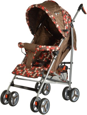 Toy House Buggy Stroller(Brown)