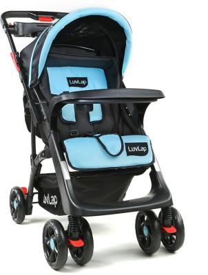 LuvLap Sports Stroller - Blue & Black ( for babies upto 25 kgs) Stroller(3, Blue, Black)