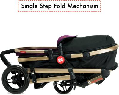 Fisher Price Hiker Luxury Stroller Cum Pram