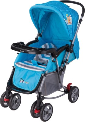 Toy House 2 in1 Rocking Stroller M2077(3, Blue)