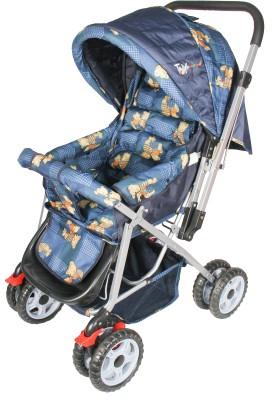 Toy House Teddy Baby Stroller Pram(3, Blue)