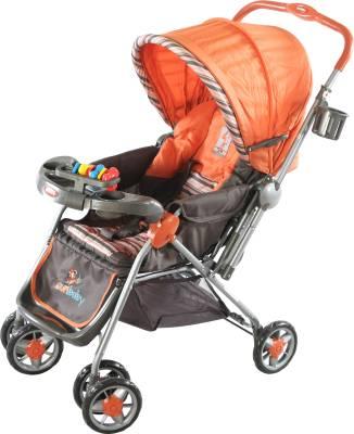 Sunbaby SB-200A Blue Circle Stroller (Orange)