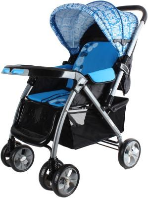 abdc kids BABY PRAM _ STROLLER BR735B_BLUE(Multi, Blue)