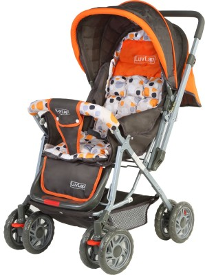 LuvLap Sunshine Baby Stroller Stroller(3, Orange)