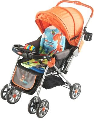 Sunbaby Stroller - Big Orange Giraffe(3, Orange)