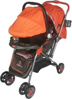 Sunbaby Tropical Travel System (Orange)