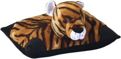 AMARDEEP Tiger Pillow   20 cm Yellow AMARDEEP Soft Toys